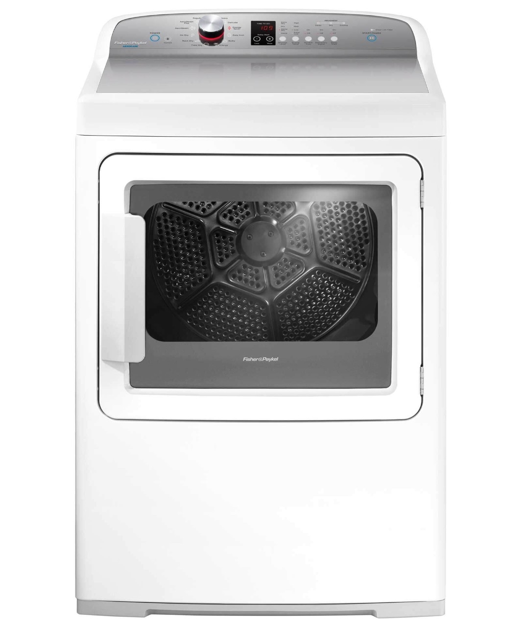 Fisher and Paykel DISPLAY MODEL--Electric Dryer, SmartTouch Dial and Steam Cycles