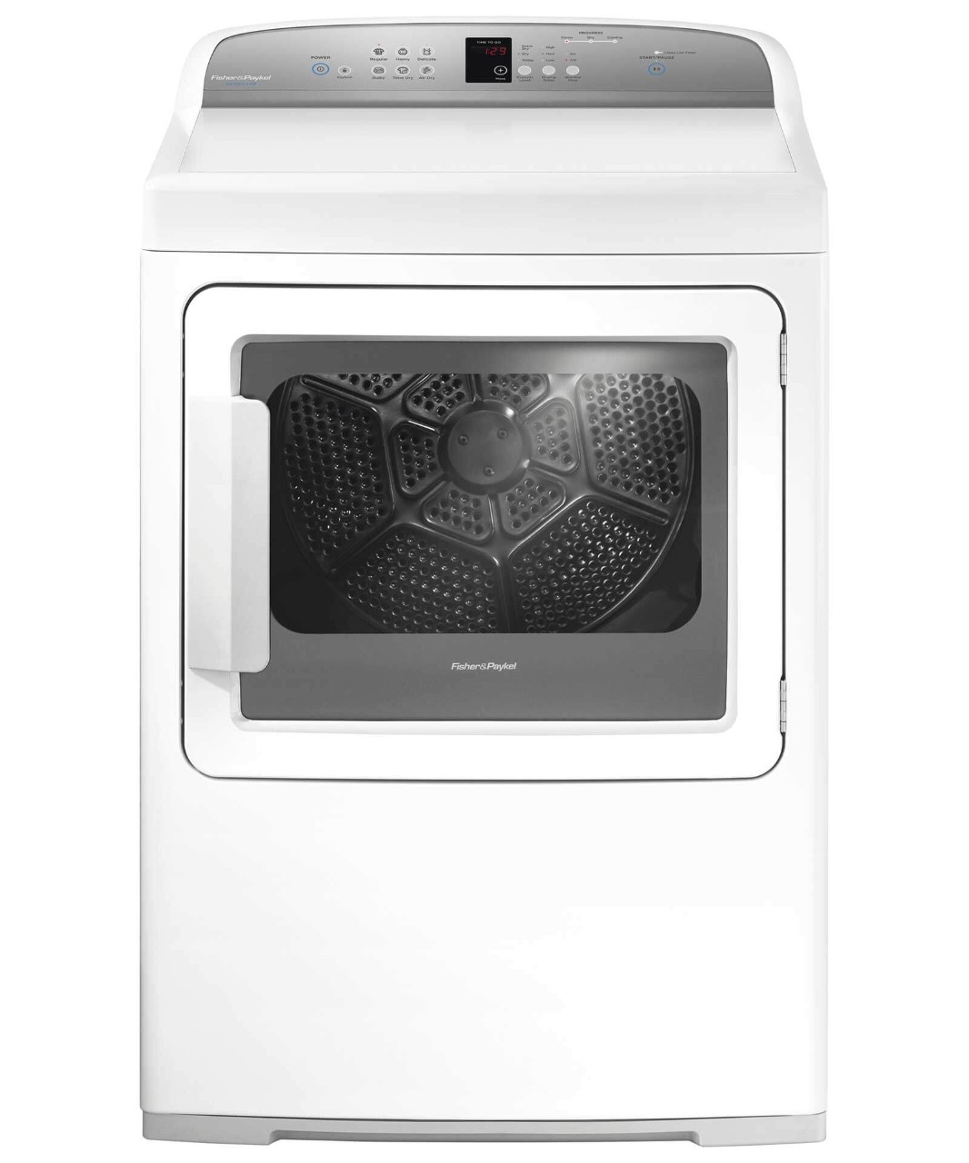 Fisher and Paykel SCRATCH & DENT--Electric Dryer, SmartTouch Controls