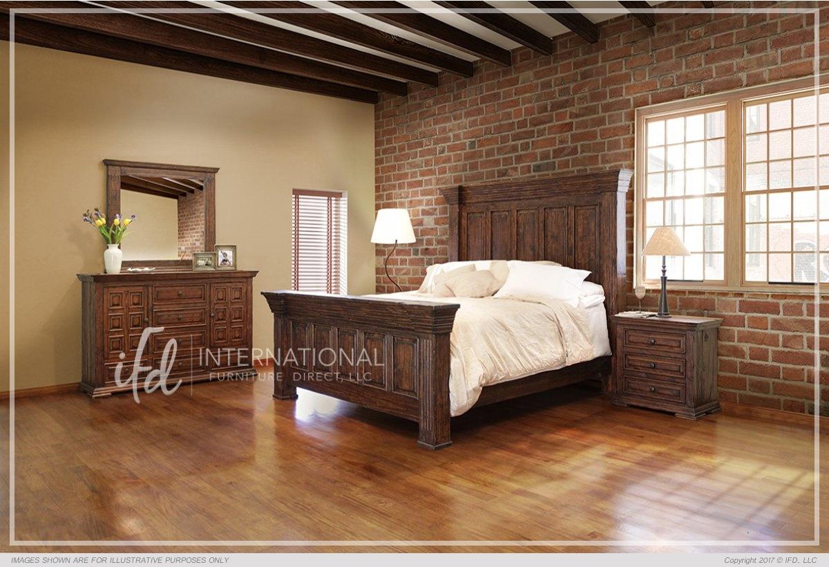 6 Drawer, 2 Doors Dresser_x000D_ 104 lb