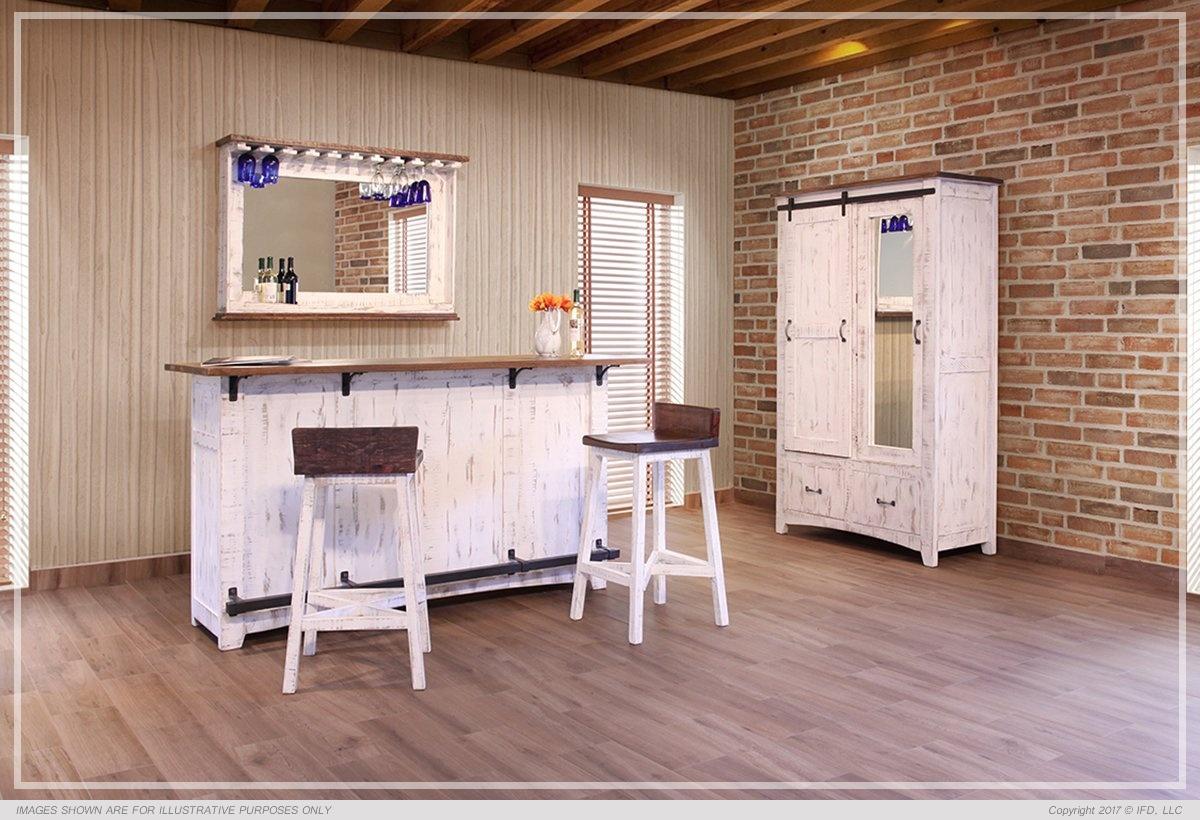 International Furniture 2 Drawer, 1 Sliding door, 1 Door Armoire_x000D_ 190 lb