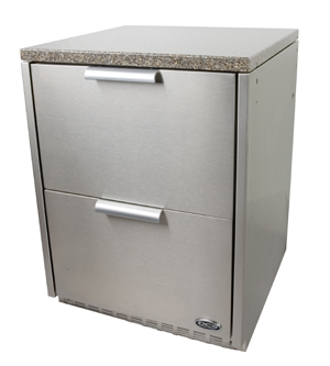 Wrapper for Outdoor: Refir, Drawer, Keg Tap