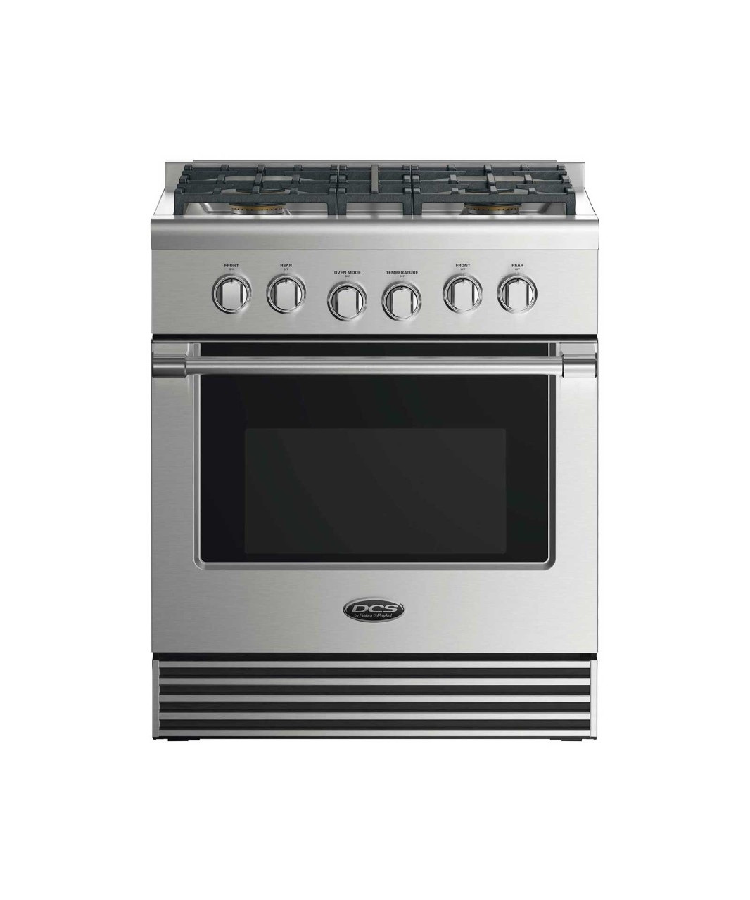 "DCS 30"" GAS RANGE: 4 BURNERS"