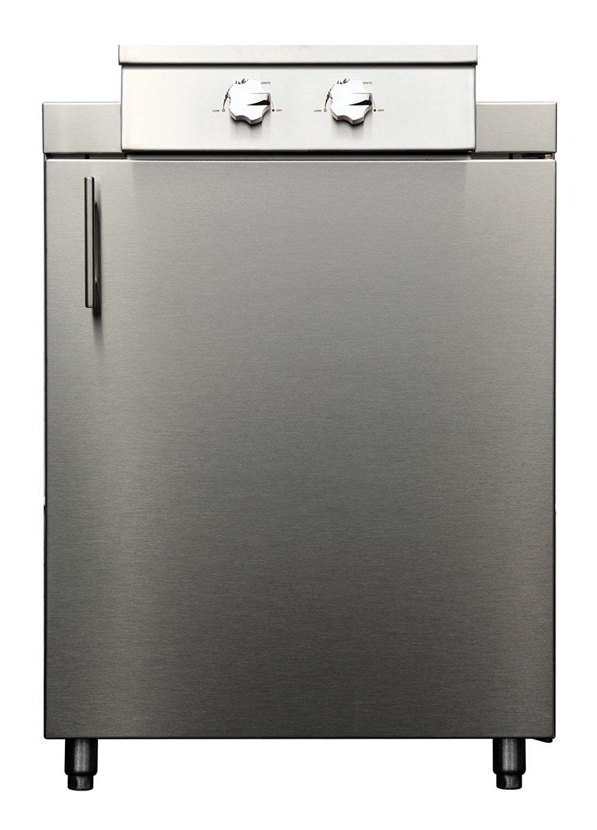 "Kalamazoo 24"" Double Cooktop Cabinet"