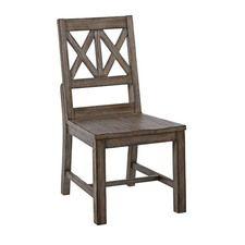 La-Z-Boy Foundry Wood Side Chair