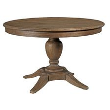 La-Z-Boy Weatherford Heather Milford Round Dining Table Package