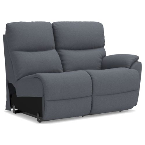 La-Z-Boy Trouper Power La-Z-Time® Left-Arm Sitting Reclining Loveseat w/ Power Headrest