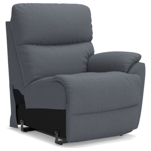 La-Z-Boy Trouper Power La-Z-Time® Left-Arm Sitting Recliner w/ Power Headrest
