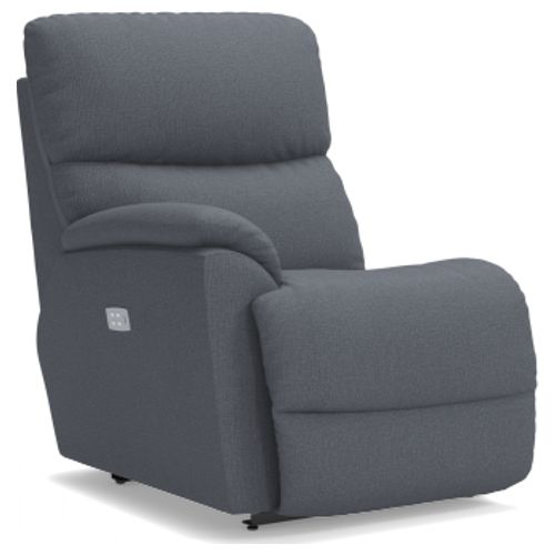 La-Z-Boy Trouper Power La-Z-Time® Right-Arm Sitting Recliner w/ Power Headrest