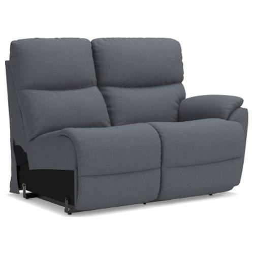 Model: 4DU724 | La-Z-Boy Trouper Power La-Z-Time® Left-Arm Sitting Reclining Loveseat w/ Power Headrest