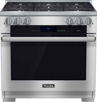 "Model: 25193472USA | Miele HR 1934 DF LP 36"" Duel Fuel Range - LP Gas"