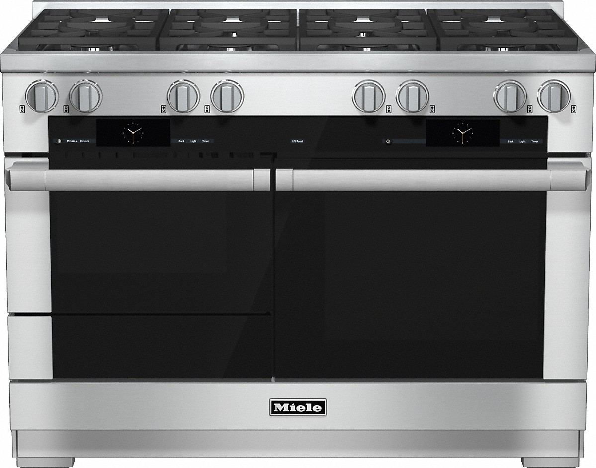 "Miele HR 1954-2 G 48"" Dual Fuel Range - Natural Gas"