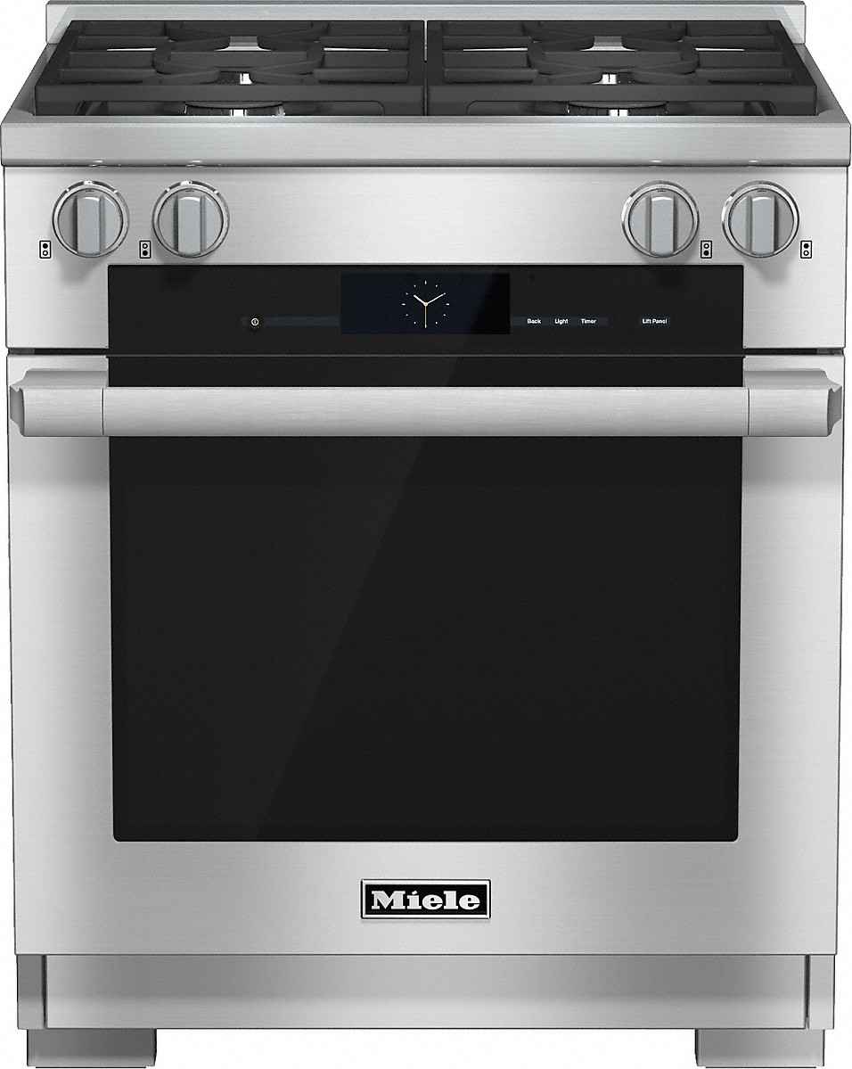 30 inch rangeDual Fuel with M Touch controls, Moisture Plus and M Pro dual stacked burners