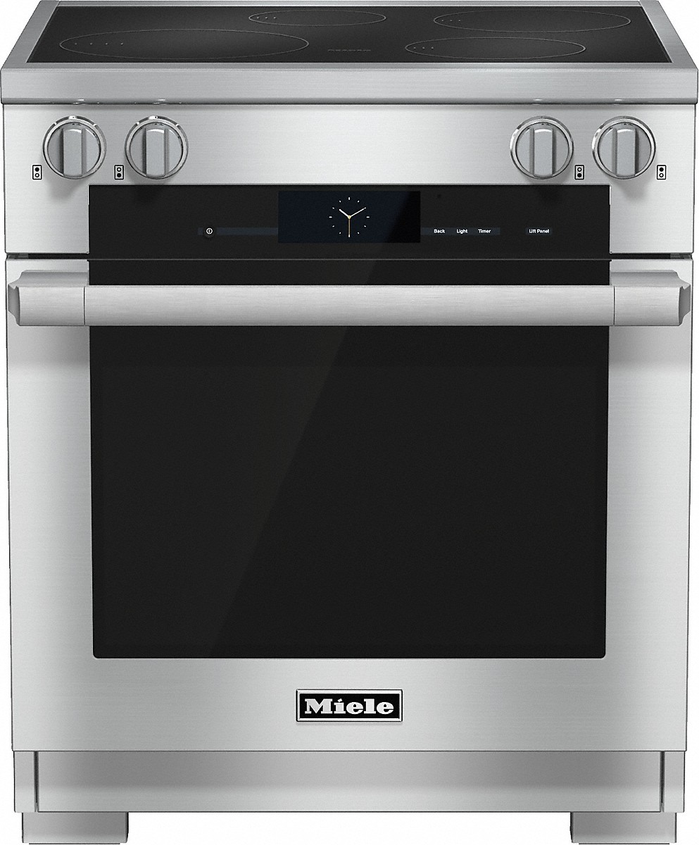 Miele 30 inch rangeInduction with M Touch controls, Moisture Plus and wireless roast probe