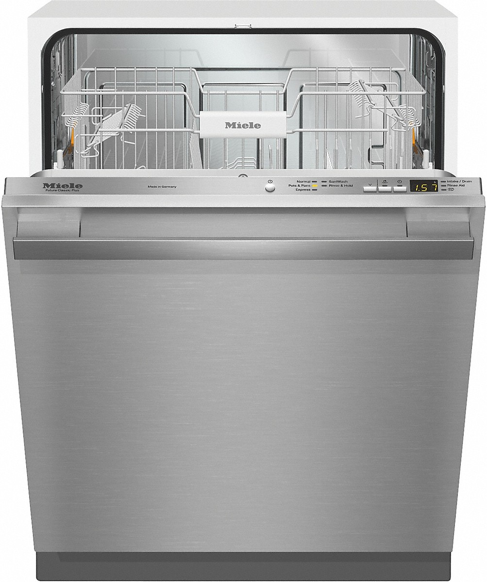 Miele Classic Plus Dishwasher w/Cutlery Basket - Pre-Finished Fully Integrated