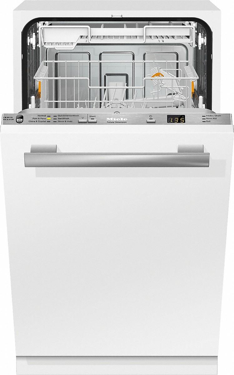 "Miele G 4780 SCVi AM 18""  ADA Fully Integrated dishwasher"
