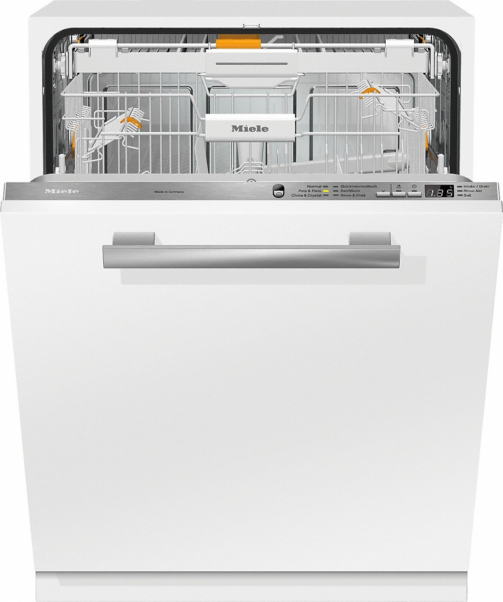 Model: 21666562USA | Miele G6665SCVi  Fully-integrated, full-size dishwasherwith hidden control panel,