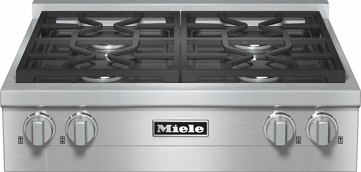 Miele RangeTop with 4 burners for professional applications