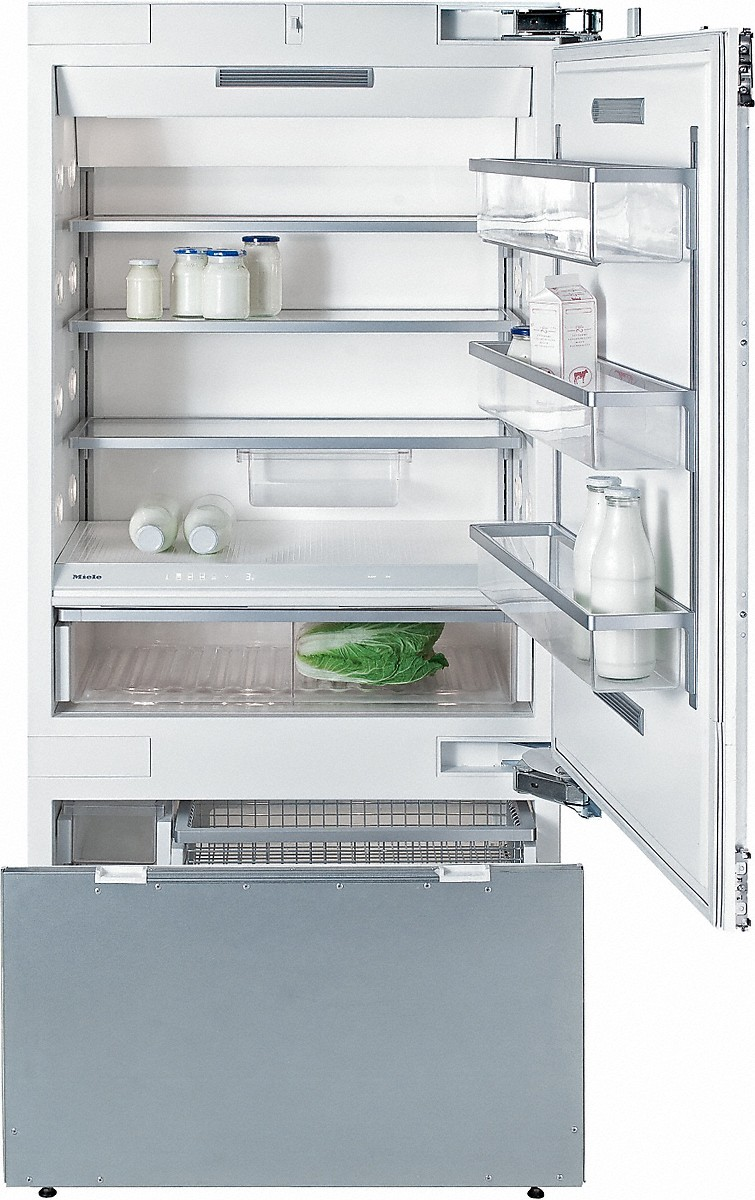 Model: KF 1903 SF-FM | Miele MasterCool™ fridge-freezerwith maximum storage space and high-quality features for exacting demands.
