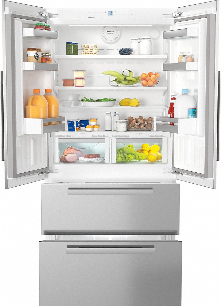 Model: 38995500USA | Miele maximum convenience thanks to generous large capacity and ice maker.