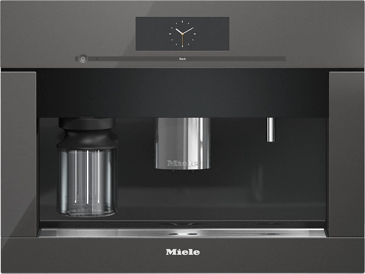 Miele CVA 6805 GG Built-in coffee machine with bean-to-cup system - the Miele all-rounder for the highest demands.