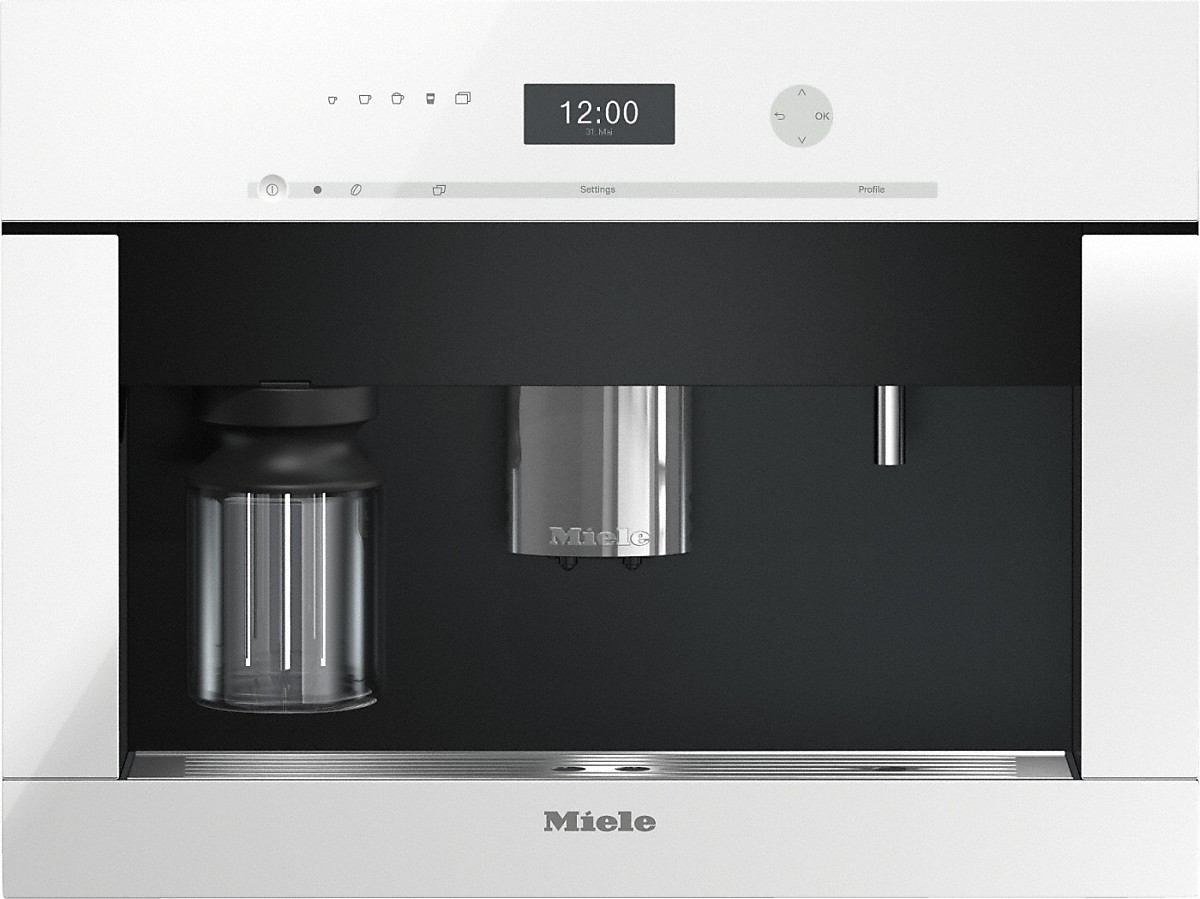 Built-in coffee machinewith bean-to cup system and OneTouch for Two prep. for perfect coffee enjoyment.