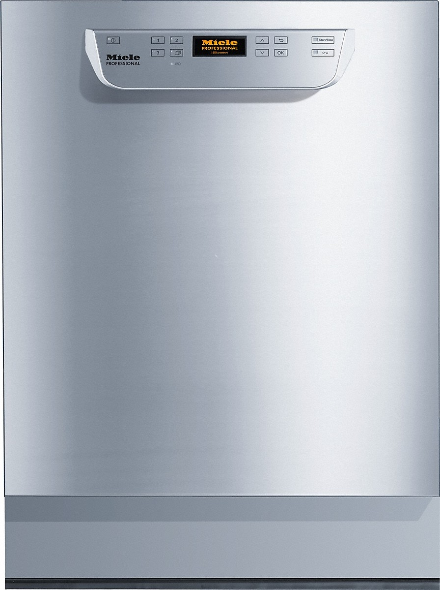 Built-under fresh-water dishwasherNSF/ANSI 3 certified for sanitization. Industrial Use only.