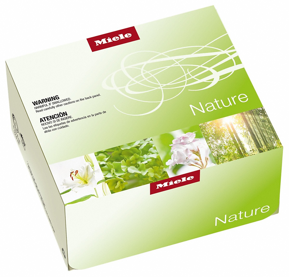 NATURE fragrance flacon 0.4 ozFor 50 dryer cycles.