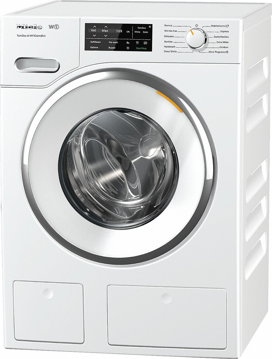WWH6600 W1 Front-loading washing machinewith TwinDos, CapDosing, and WiFiConn@ct.