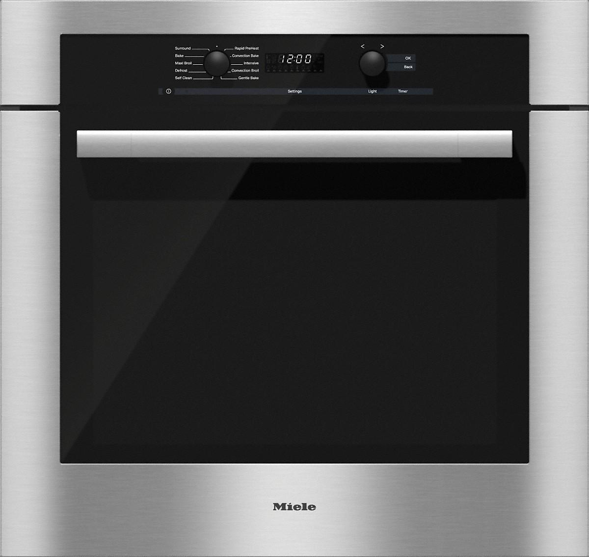 "Model: 22618053USA | Miele 30"" Direct Select Convection Oven, ContourLine"