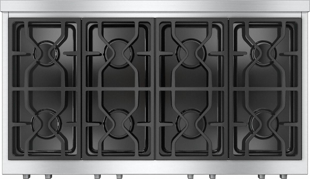 Model: 26135450USA | RangeTopwith 8 burners for professional applications