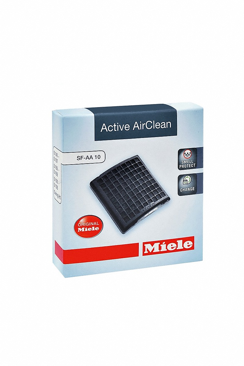 Active AirClean filterfor effective filtration of unpleasant odors.