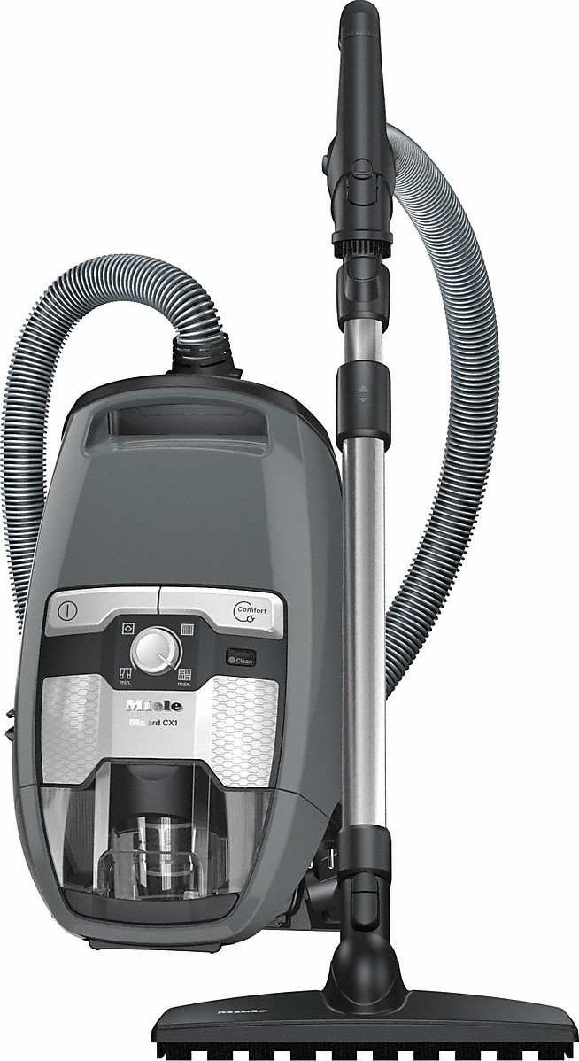Bagless canister vacuum cleaners