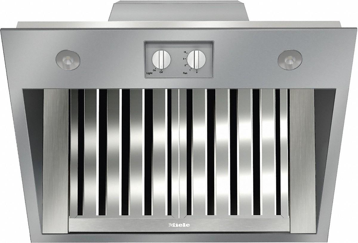 Miele Insert ventilation hoodfor perfect combination with Ranges and Rangetops.