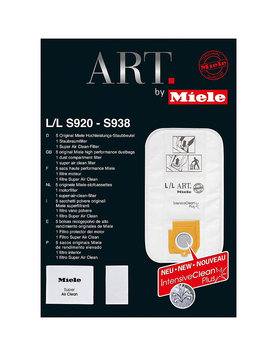 Genuine Miele FilterBag  Type LL for ART by Miele vacuum cleaners