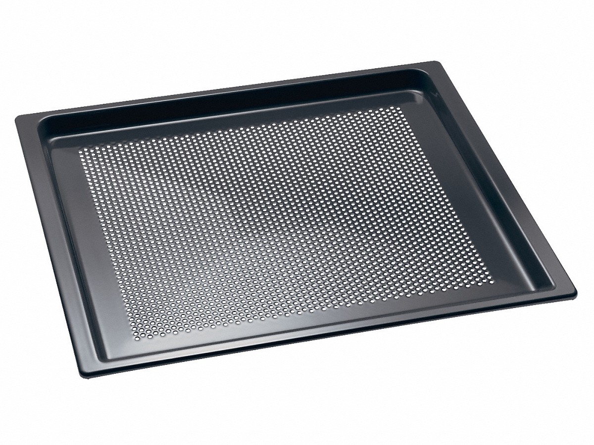 Miele Perforated Gourmet baking trayfor everything that is crunchy and crisp.