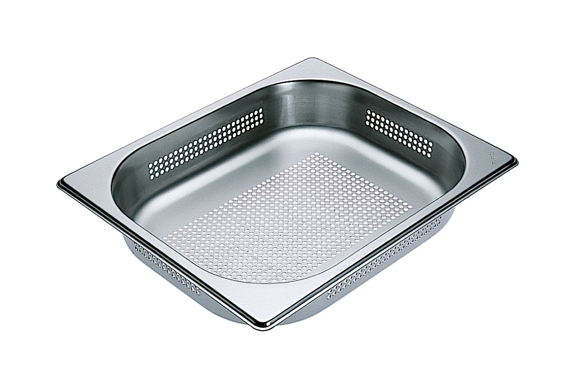 Miele Perforated steam oven pan for blanching or cooking vegetables, fish, meat and potatoes and much more