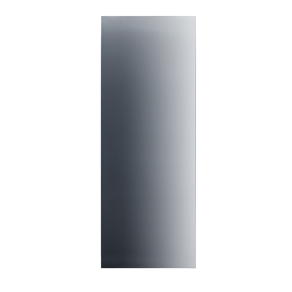 Stainless steel frontfor stylish integration of MasterCool™ freezers in your kitchen.