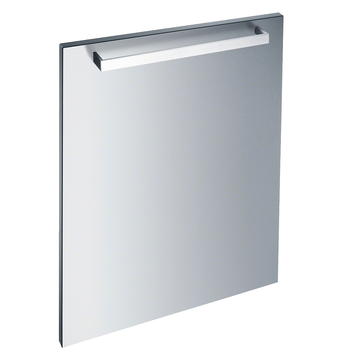 Int. front panel: W x H, 24 x 30 inClean Touch Steel™ with handle in Classic Design for integrated dishwashers.