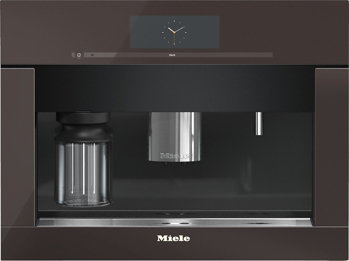 Miele Built-in coffee machine with bean-to-cup system - the Miele all-rounder for the highest demands.