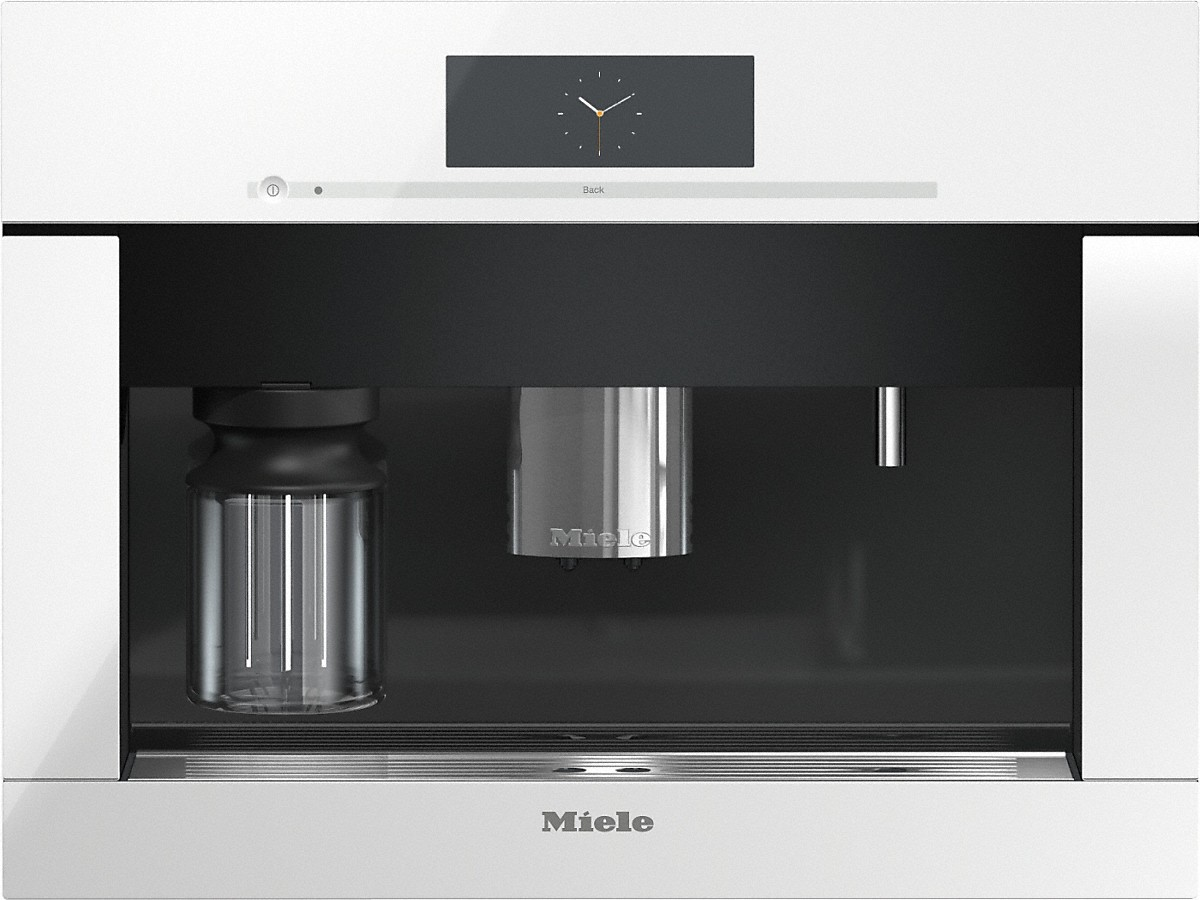 Miele CVA 6805 WH Built-in coffee machine with bean-to-cup system - the Miele all-rounder for the highest demands.