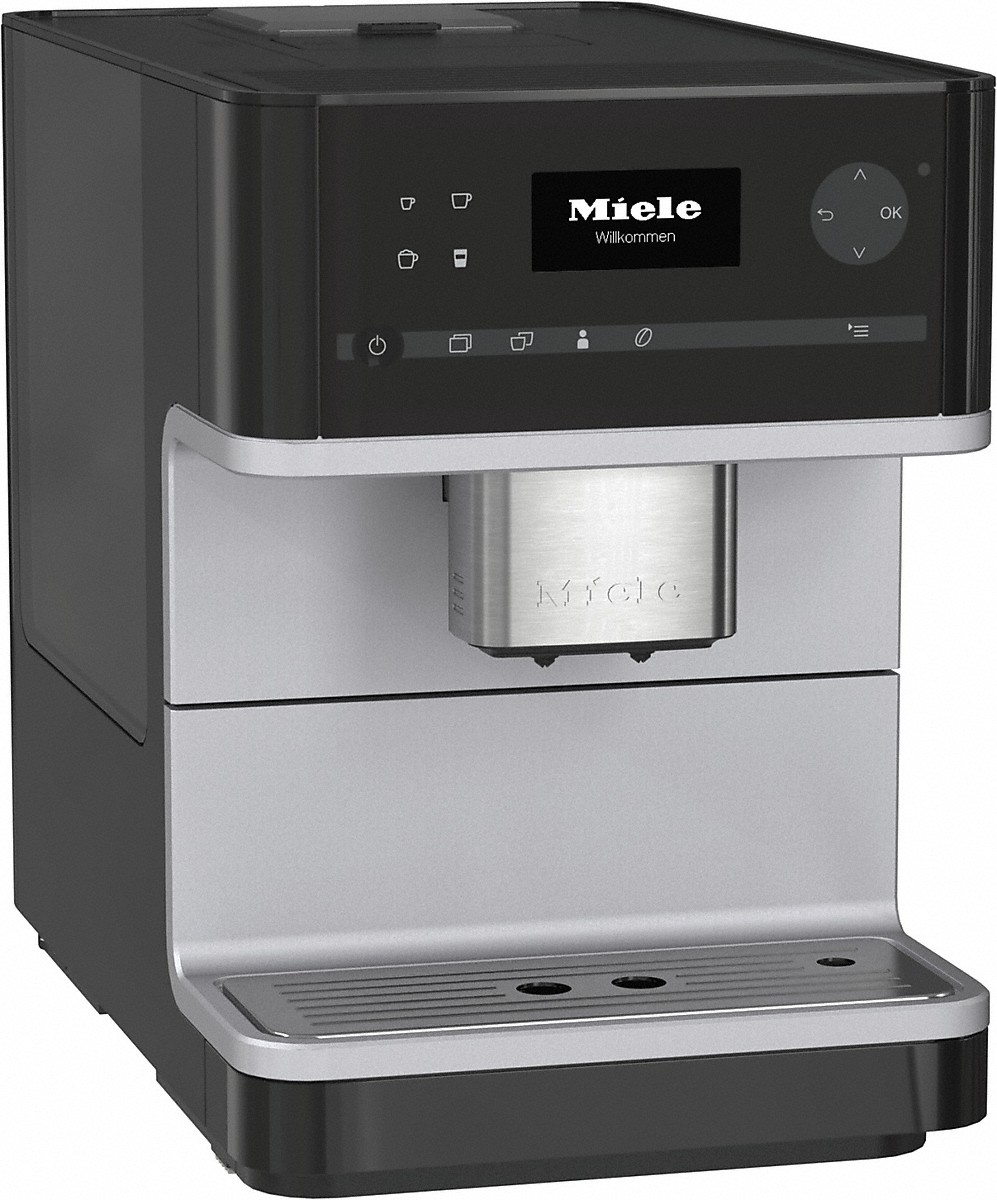 Countertop coffee machine with OneTouch for Two for perfect coffee enjoyment.