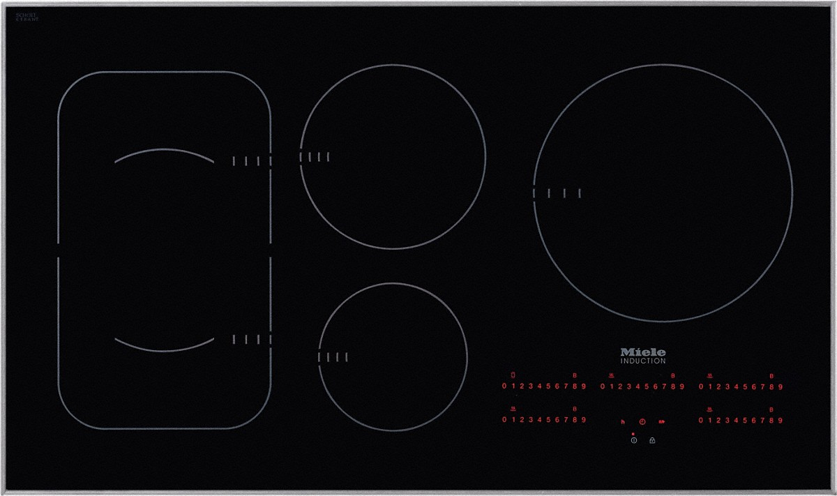 Miele Induction cooktop with touch controls