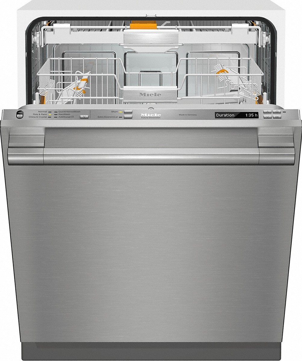 G6785SCVSF Fully-integrated, full-size dishwasher with hidden control panel,