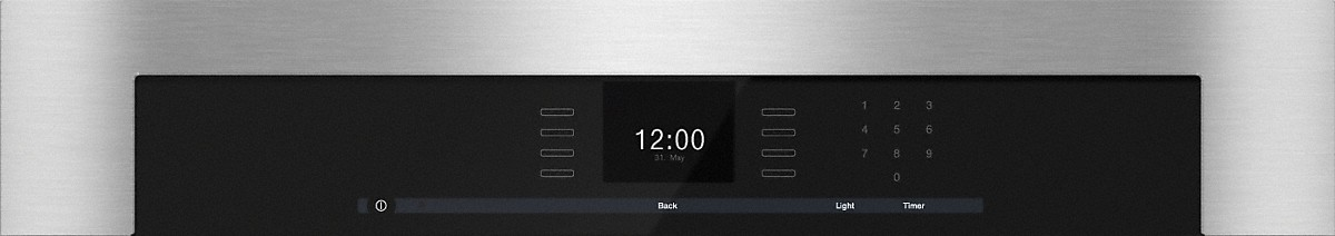 "Model: 22658053USA | Miele 30"" SensorTronic Convection Oven, ContourLine"