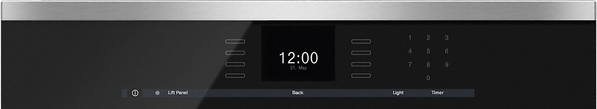 Model: 23650074USA | Miele Steam oven with full-fledged oven function and XL cavity combines two cooking techniques