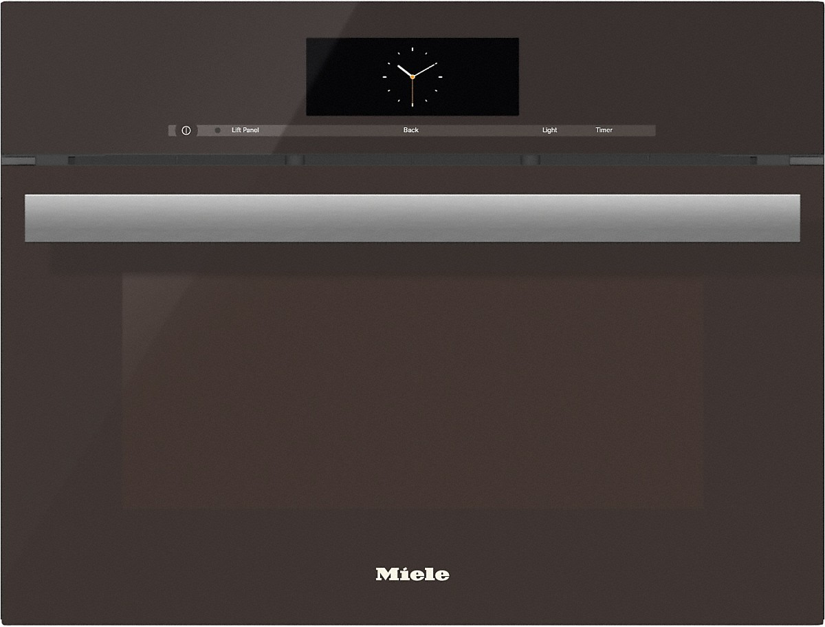 Model: 23680070USA | Miele Steam oven with full-fledged oven function and XL cavity combines two cooking techniques