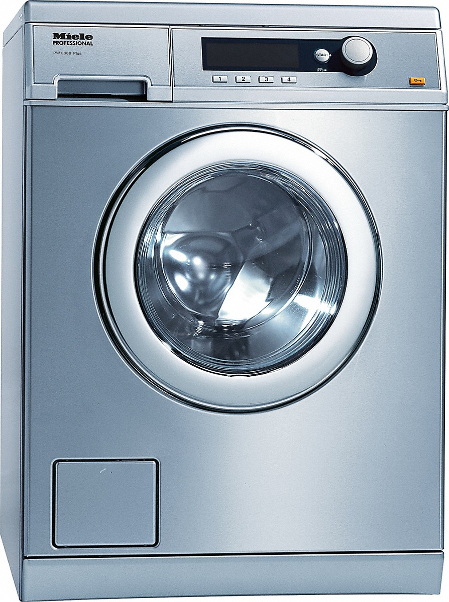 Miele Front-loading washing machine with the shortest cycle of 49 minutes, model with drain pump.