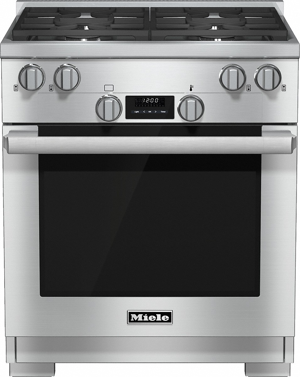 30 inch rangeAll Gas with DirectSelect, Twin convection fans and M Pro dual stacked burners