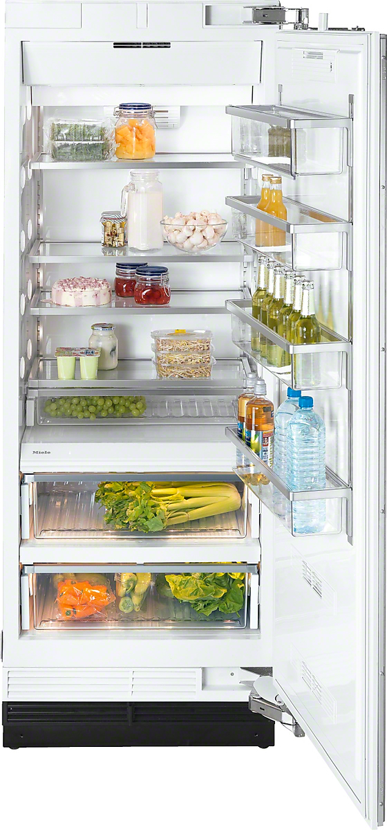 Miele MasterCool  refrigerator with high-quality features and maximum storage space for fresh food.