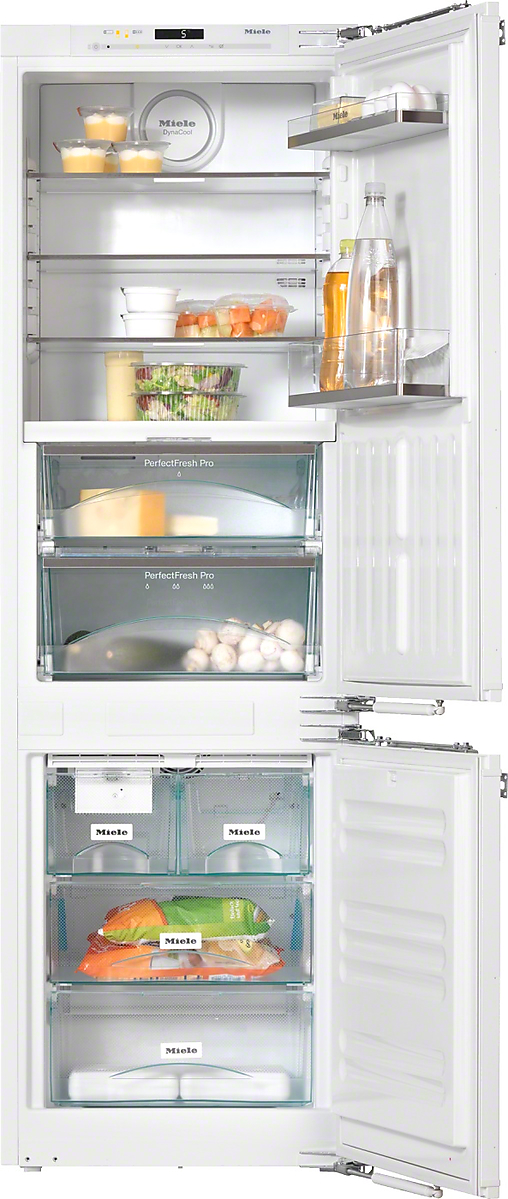 PerfectCool fridge-freezer For that special look in the kitchen thanks to Perfect fresh Pro and FlexiLight
